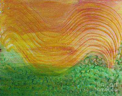 Painting - Sun And Grass In Harmony by Sarahleah Hankes