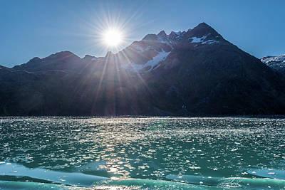 Sunshine And Ice Art Print