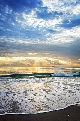 Photograph - Sun And Sea by Debra and Dave Vanderlaan