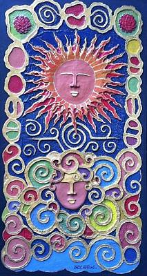 Sun And Wind 2 Art Print by Otil Rotcod