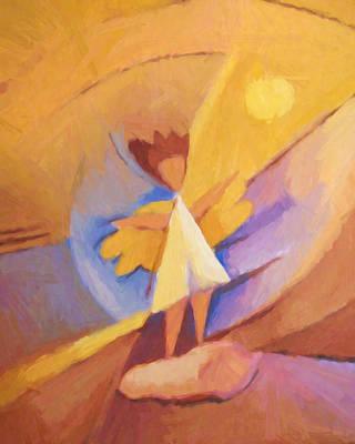 Painting - Sun Angel by Lutz Baar