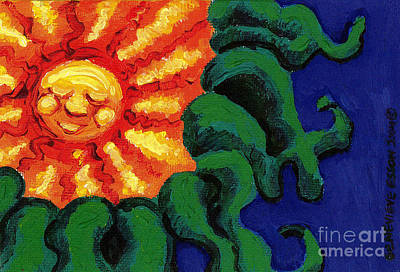 Sun Baby Art Print