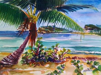 Sun Bay, Vieques, Puerto Rico Original by Barbara Richert