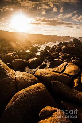 Stunning Photograph - Sun Bleached Australia Beach by Jorgo Photography - Wall Art Gallery