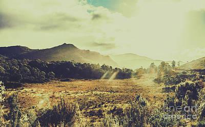 Nature Art Photograph - Sun Bleached Australia by Jorgo Photography - Wall Art Gallery