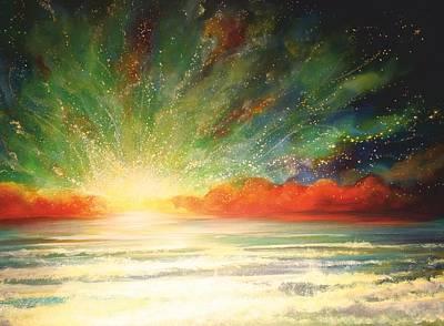 Sun Bliss Art Print by Naomi Walker