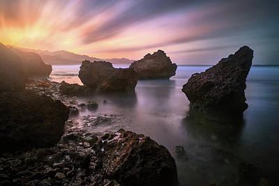 Photograph - Sun Bomb by Andre Donawa