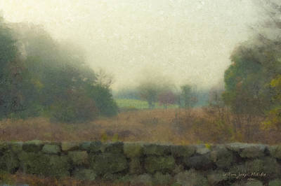 Mcentee Painting - Sun Breaking Through by Bill McEntee