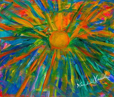Painting - Sun Burst by Kendall Kessler