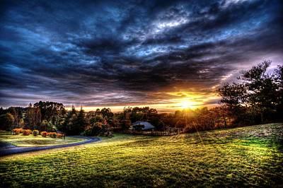 Photograph - Sun Burst  by Michael Damiani