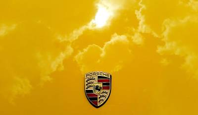 Photograph - Sun Clouds Porsche by Fiona Kennard