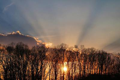Photograph - Sun Comes To Earth by Kathryn Meyer