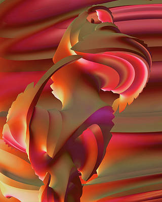 Digital Art - Sun Dance by Dolores Kaufman
