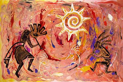 Sun Dance Art Print by Paul Tokarski