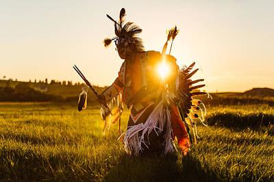 Powwow Photograph - Sun Dance by Todd Klassy