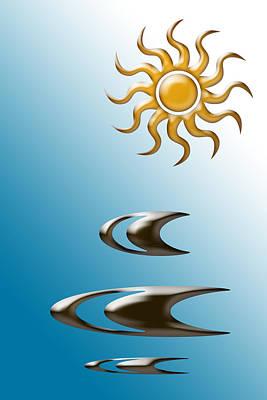 Sun Design Print by Aimee L Maher Photography and Art Visit ALMGallerydotcom