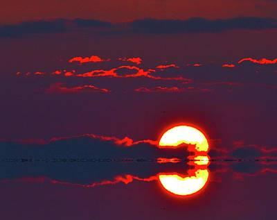 Digital Art - Sun Disk Behind A Cloud Two  by Lyle Crump