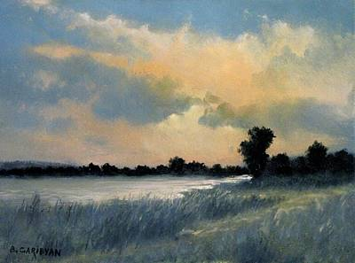 Painting - Sun Down by Boris Garibyan