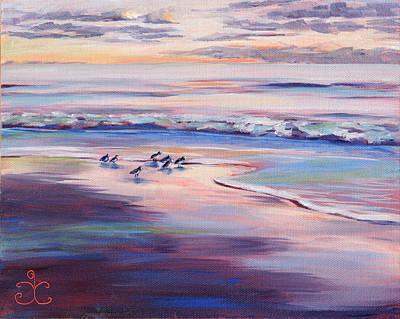 Painting - Sun Down - Sweet Spot by Trina Teele