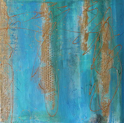Mixed Media - Sun Drips by Lauren Petit