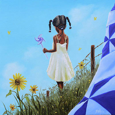 Painting - Sun Flower by Jerome White
