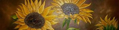 Painting - Sunny Flowers by Michele Marie Catalano