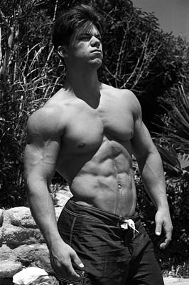Male Physique Photograph - Sun God I by Thomas Mitchell