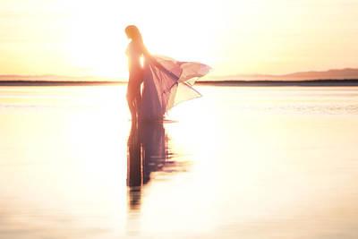 Photograph - Sun Goddess by Dario Infini