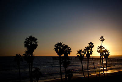Clemente Photograph - Sun Going Down In California by Ralf Kaiser