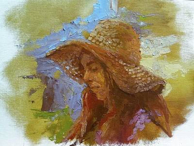 Painting - Sun Hat #1 by Brian Kardell
