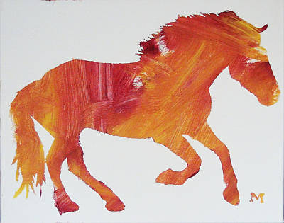 Painting - Sun Horse by Candace Shrope