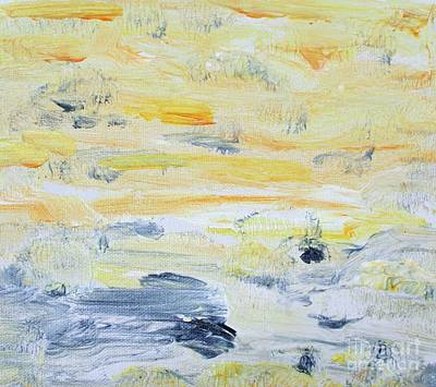 Painting - Sun In The Hills by Sarahleah Hankes
