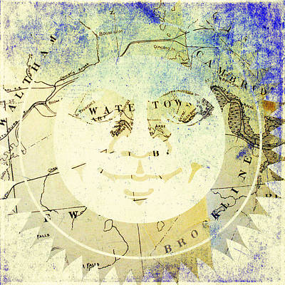 Sun Digital Art - Sun In Watertown Mass by Brandi Fitzgerald