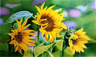 Mohammad Painting - Sun Is Shining  by Hanieh Mohammad Bagher