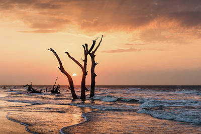 South Carolina Wall Art - Photograph - Sun Is Up by Ivo Kerssemakers