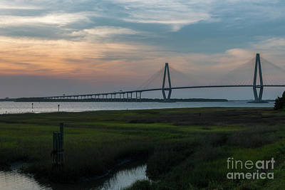 Photograph - Sun Kissed Charleston Sunset by Dale Powell