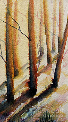 Painting - Sun-kissed Forest by Rebecca Davis