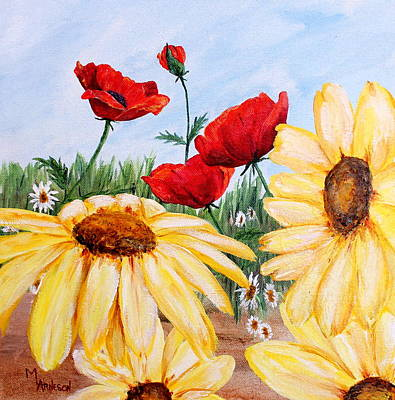 Wall Art - Painting - Sun Kissed by Mary Arneson