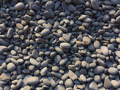 Photograph - Sun Kissed Pebbles by Stewart Scott