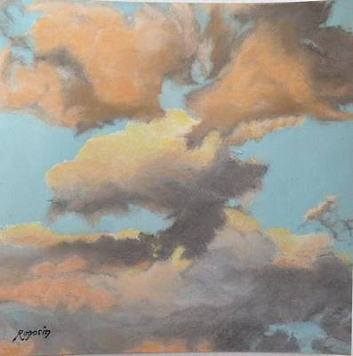Painting - Sun Kissed Sky by Harvey Rogosin