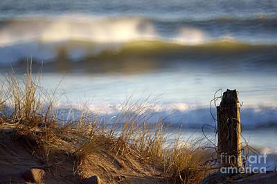 Photograph - Sun Kissed Waves by Minolta D