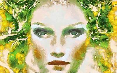 Digital Art - Sun Kissed Full Color by Catherine Lott