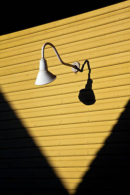 Yellow Photograph - Sun Lamp by Dave Bowman