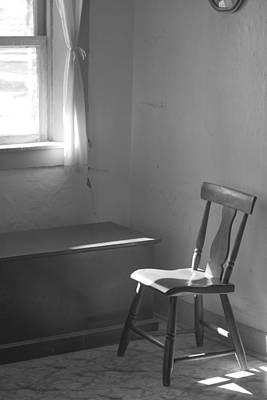 Photograph - Sun Lights The Chair by Eric Tressler