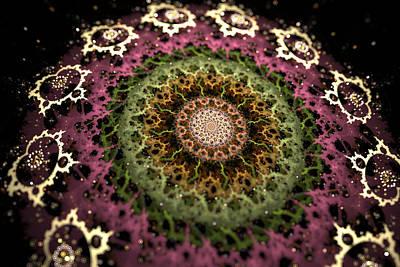 Digital Art - Sun Mandala by Sleepless Monk