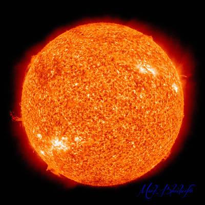 Photograph - Sun  by Mark Blauhoefer
