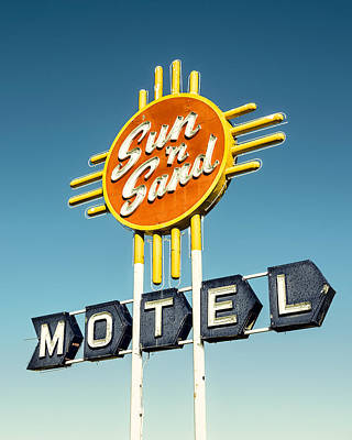 Retro Wall Art - Photograph - Sun 'n Sand by Humboldt Street
