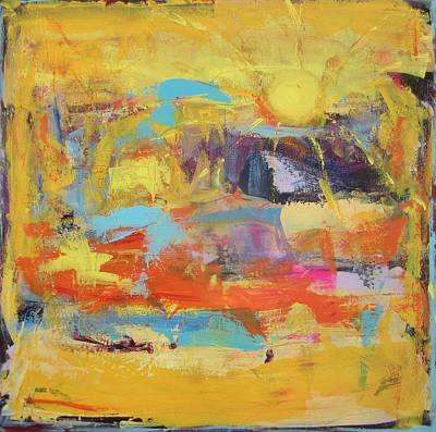 Painting - Sun Overlapping by Francine Ethier