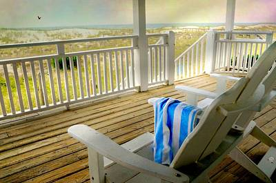 Sun Porch Photograph - Sun On Deck by Diana Angstadt