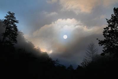 Photograph - Sun On Fog by Kathryn Meyer
